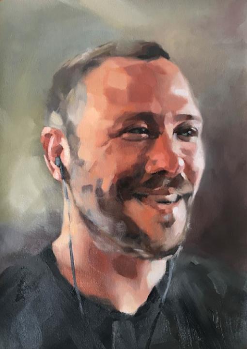 Peter Matthew Yates' artwork titled Connection