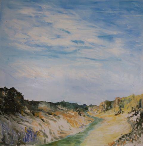 River-passage artwork by Terry Fuller and Amanda Fuller