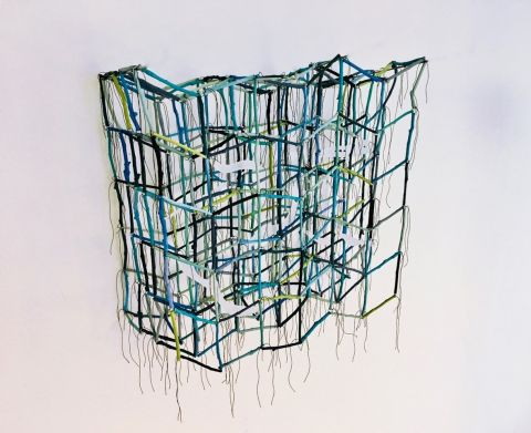 River Dream net artwork by Margaret Ainscow